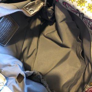 Coach Graffiti Poppy  Diaper / weekend Bag